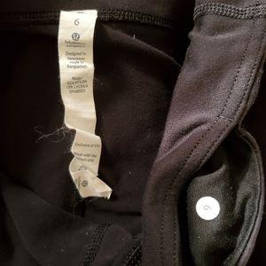 lululemon athletica Pants & Jumpsuits - Lululemon Black Leggings / 6